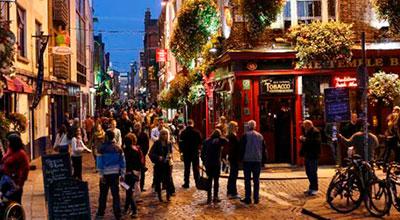 Inglés-templebar-Dublin